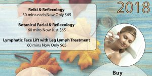 Agewell Fundamentals Wellness and Spa Services Fall Specials